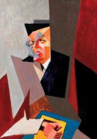 Tristan Tzara Arcképe.Tihanyi Lajos. 1927. Hungría.