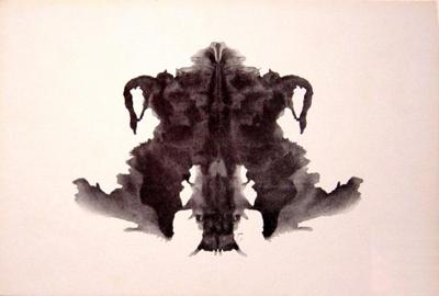 Test de Rorschach. Lámina 4. Click para agrandar